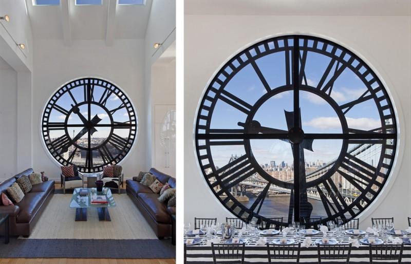 Clock tower loft en triplex new york - Appartement de standing horloge tower ...