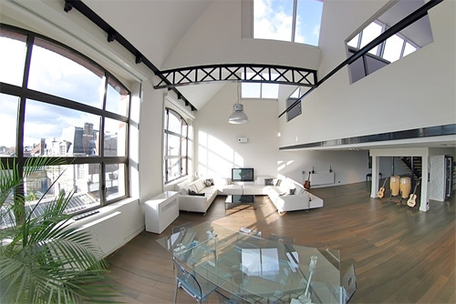 Loftylovin Luxury Loft In An Old Factory In Roubaix