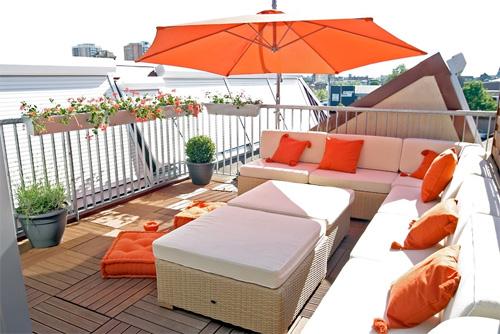 terrasse de toit