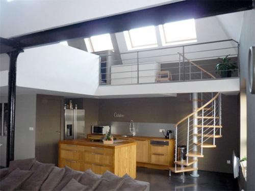 27 id es d 39 escaliers pour votre loft - Garde maison pendant vacances gratuit ...
