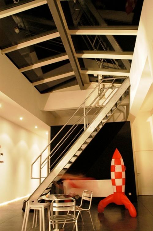 27 id es d 39 escaliers pour votre loft - Escalier direct usine ...