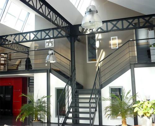 27 idées d'escaliers pour votre loft