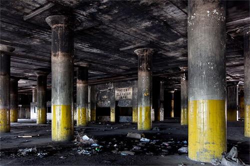 Photos de lieux abandonnés par Thomas Jorion, exploration urbaine d'usine désaffectée