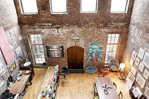 photos d 39 un loft avant et apr s les travaux. Black Bedroom Furniture Sets. Home Design Ideas