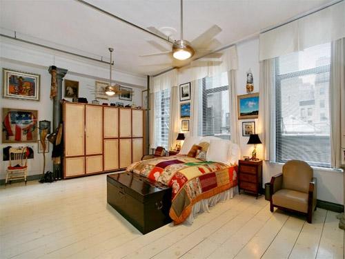 Visite du loft de whoopi goldberg for Loft a vendre new york