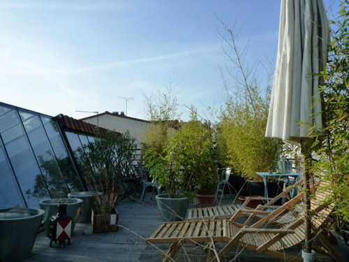 Loft appartement avec terrasse bois colombes Loft et terrasse