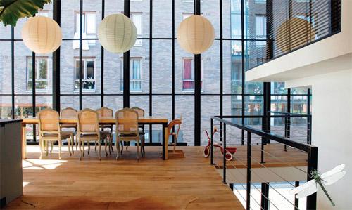 Loft à Amsterdam par CSAR architecture