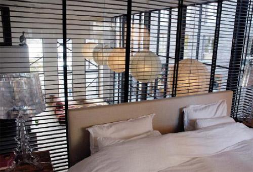 chambre du loft à Amsterdam