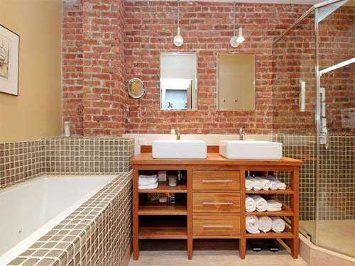 Loft new york en plein c ur de greenwich village for Salle de bain new york