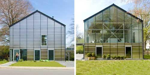 maison loft ossature metallique