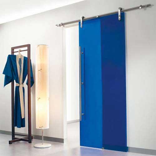 Porte bleue for Castorama mestre