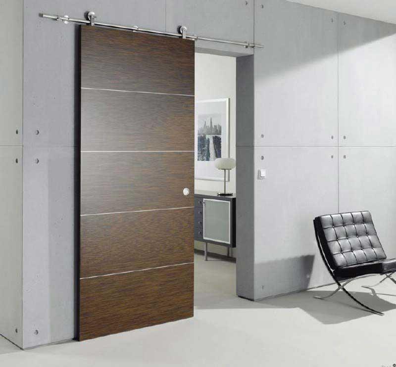 33 idées de portes coulissantes déco - Porte Coulissante Pour Salle De Bain