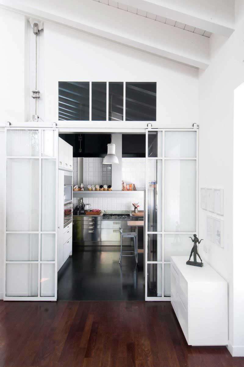 Porte Verriere Interieure Occasion porte coulissante : 31 idées originales et astucieuses