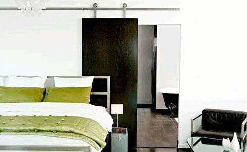 porte coulissante int rieur sur mesure. Black Bedroom Furniture Sets. Home Design Ideas
