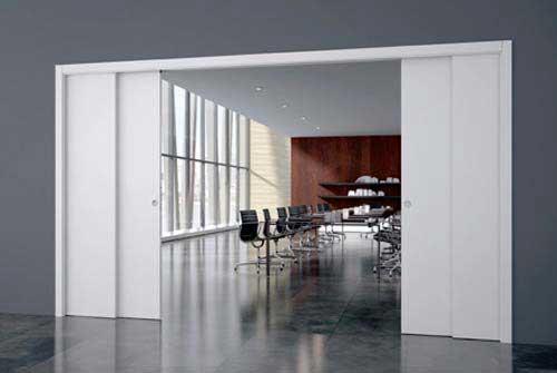 Idées De Portes Coulissantes Déco - Porte placard coulissante avec porte appartement interieur