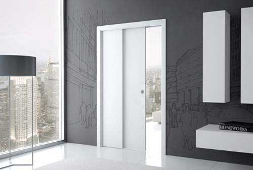 Porte coulissante t lescopique - Porte coulissante wc phonique ...