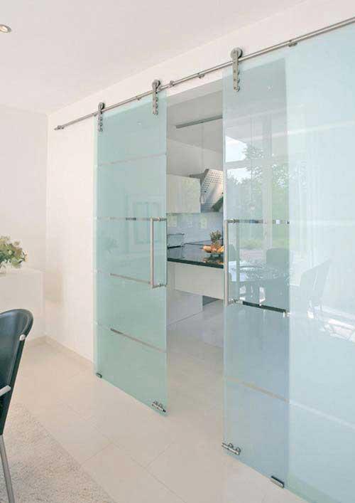 33 id es de portes coulissantes d co - Porte coulissante verre ...