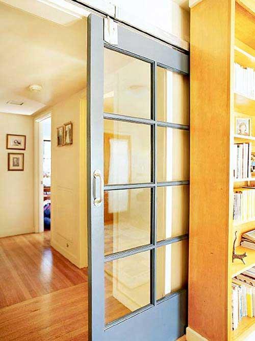 Idées De Portes Coulissantes Déco - Porte placard coulissante avec porte interieur petit carreaux