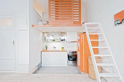 mezzanine couchage appartement