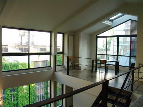 fermer une mezzanine avec du verre cloisons mobiles tous les mur mobile cloison coulissante mur. Black Bedroom Furniture Sets. Home Design Ideas