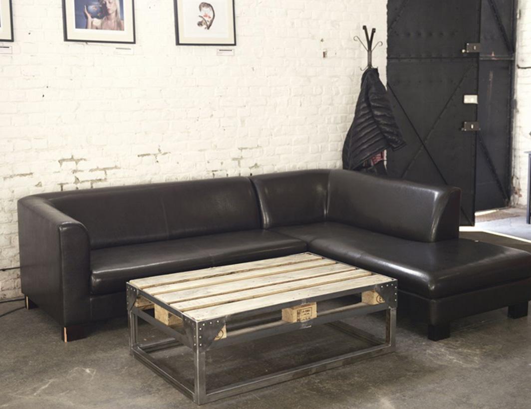 7 id es d co de mobilier avec des palettes - Idee table basse recup ...