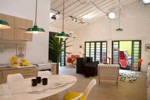 Relooking d 39 une maison en loft for Image loft maison