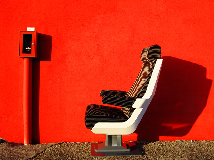 Fauteuil atypique : avion, barbier, train !