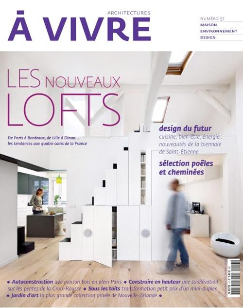 Magazine architectures vivre sp cial loft for Architecture a vivre