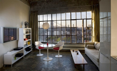 photo du loft à New York
