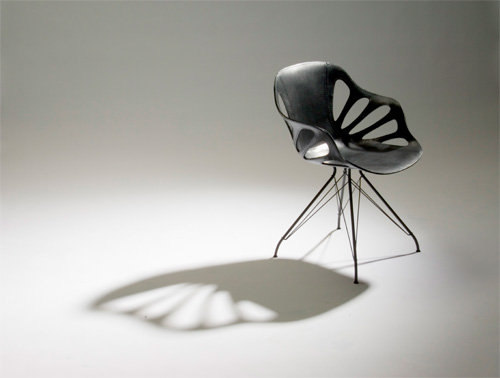 Chaise papillon design