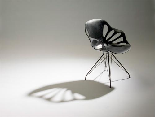 Chaise papillon design