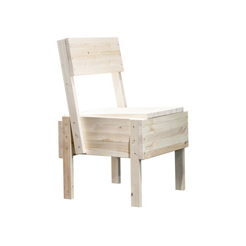 chaise en bois monter soi m me. Black Bedroom Furniture Sets. Home Design Ideas