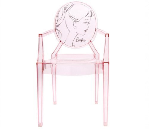 Chaise Barbie Louis Ghost