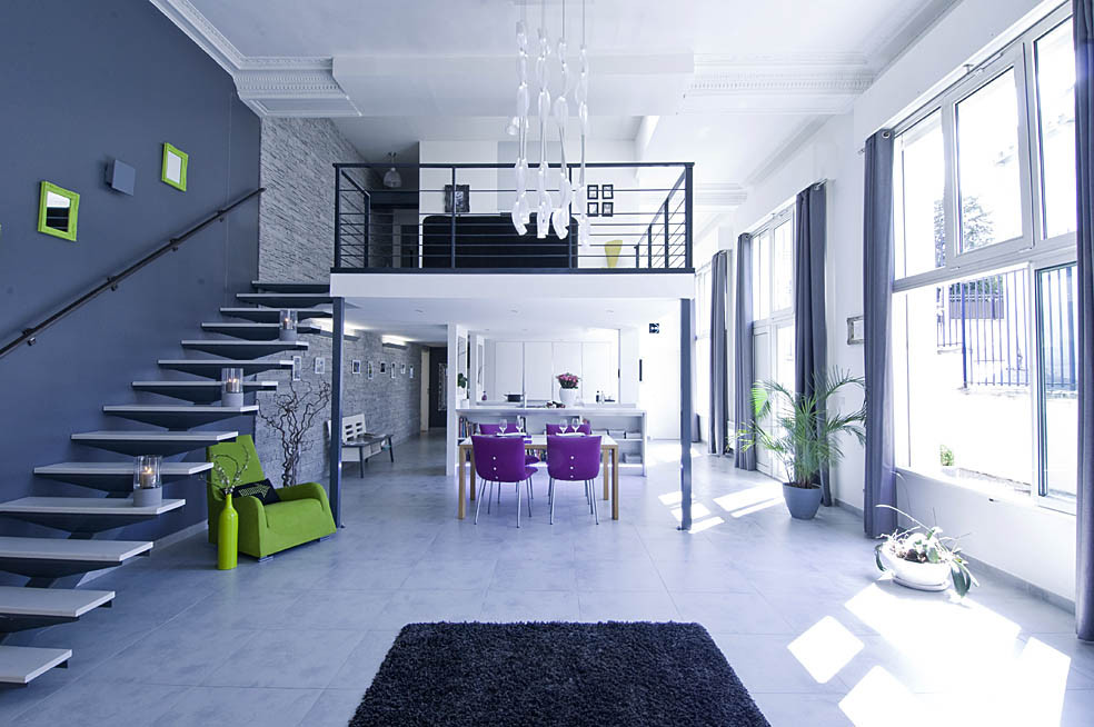 Un ancien couvent transform en loft for L interieur d un couvent