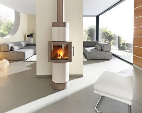 13 id es de po les bois pour votre loft. Black Bedroom Furniture Sets. Home Design Ideas