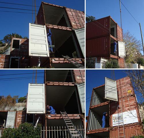 Construction d une maison container marseille for Projet maison container