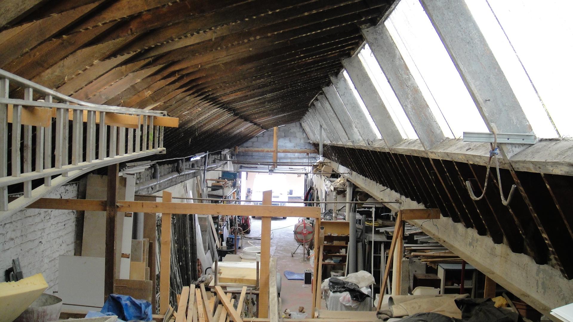 Rencontre avec coralie geoffroy et leur usine - Construction d un loft ...
