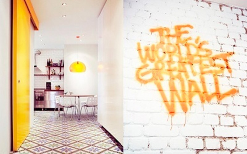 Tag déco sur un mur