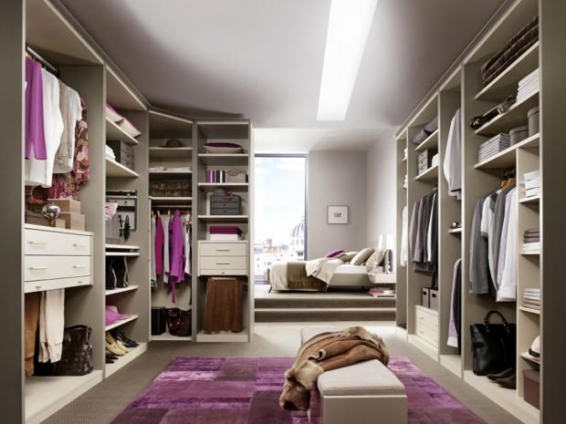 24 Idées De Dressing Pour Votre Loft