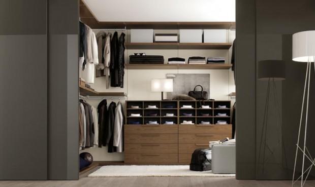 24 id es de dressing pour votre loft - Fermer un meuble ouvert ...