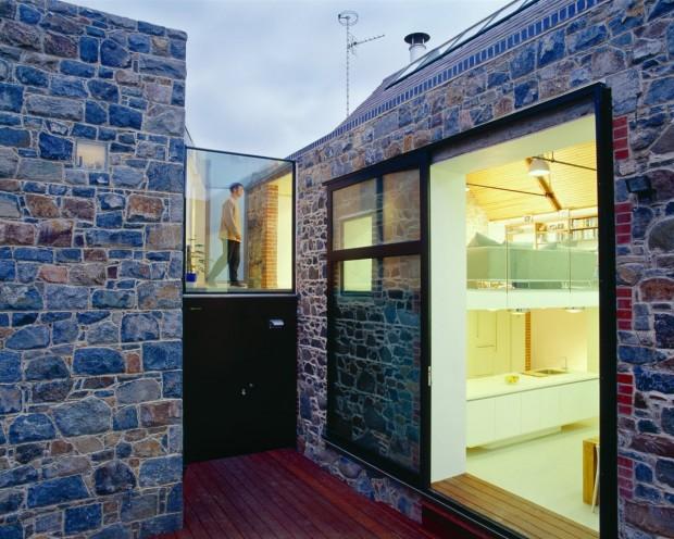 La concha house par mooarc - Conteneur transforme en habitation ...
