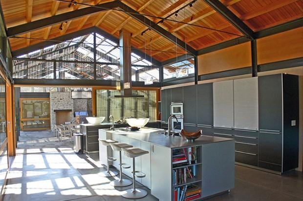 yee residence maison esprit loft en californie. Black Bedroom Furniture Sets. Home Design Ideas