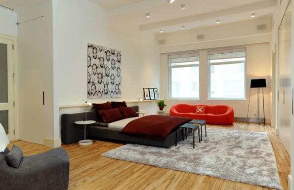 Le penthouse esprit loft de thierry mugler Chambre loft new yorkais