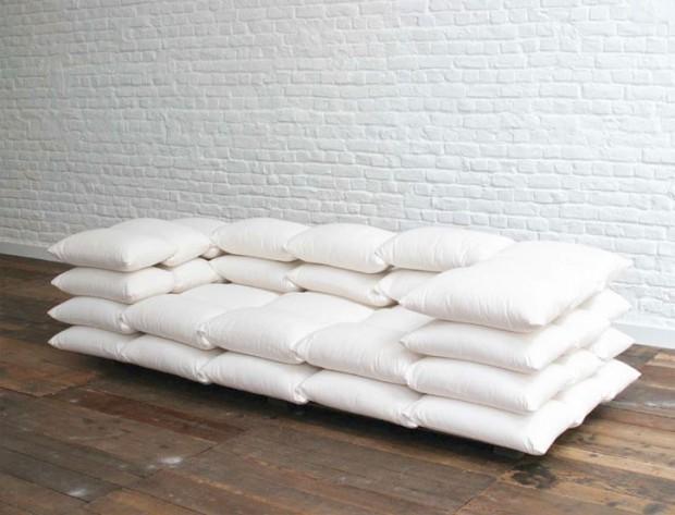 plancher et mur en brique blanc