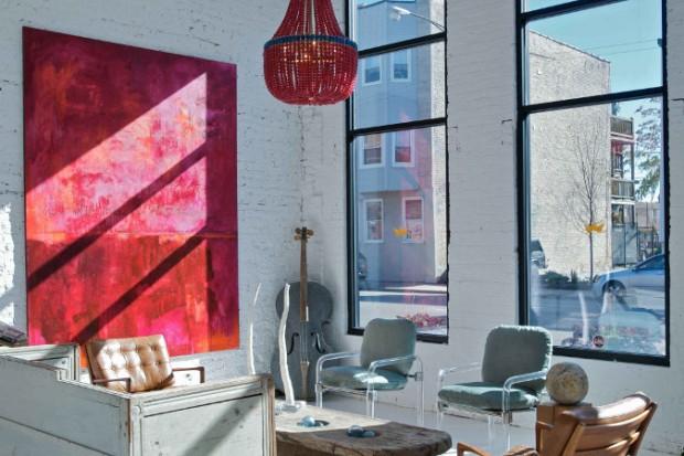 12 id es d co de murs en brique pour votre loft. Black Bedroom Furniture Sets. Home Design Ideas