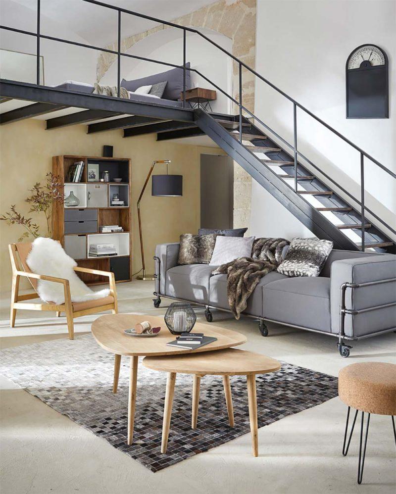 """Canap"""" moderne quatre places Maisons du Monde"""