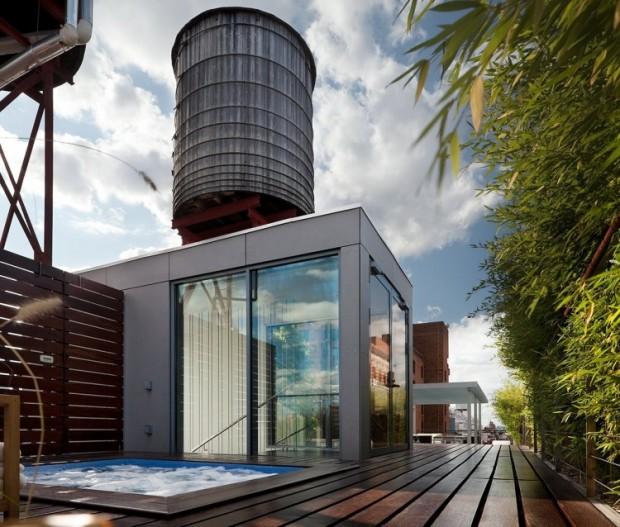Loft avec jacuzzi sur le rooftop
