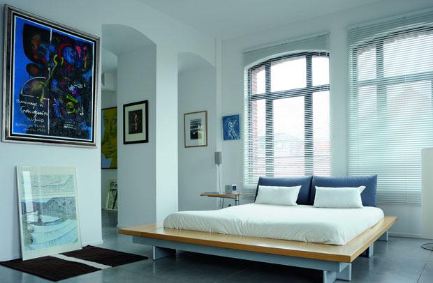Chambre du loft à Lille