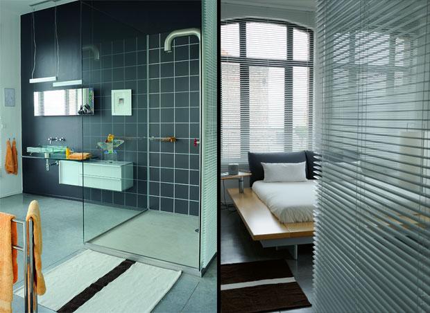 Salle de bain du loft