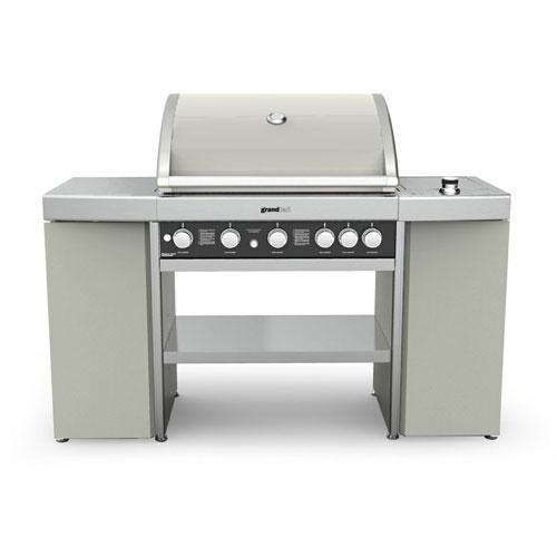 Barbecue haut de gamme en inox